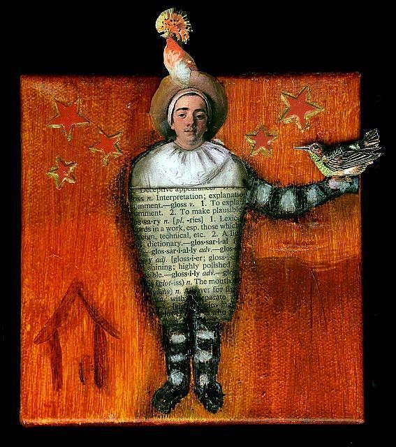 Art: The Birdman by Artist Dawn Williams