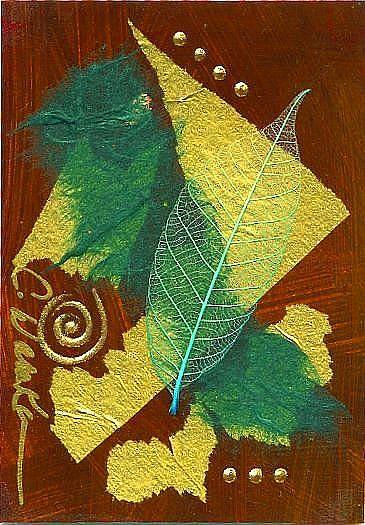Art: Nature Walk ~ 2 by Artist Christine Wasankari