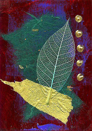 Art: Nature Walk ~ 5 by Artist Christine Wasankari