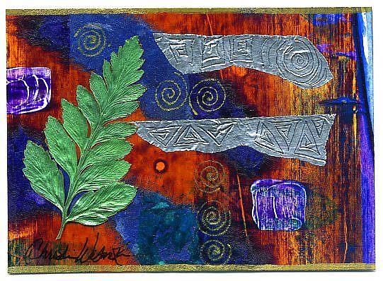 Art: Forest Deep #3 by Artist Christine Wasankari