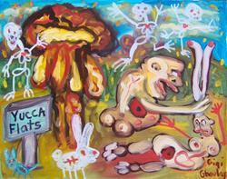 Art: Beast Of Yucca Flats by Artist Elisa Vegliante