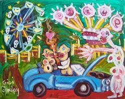Art: Carnival Of Souls by Artist Elisa Vegliante
