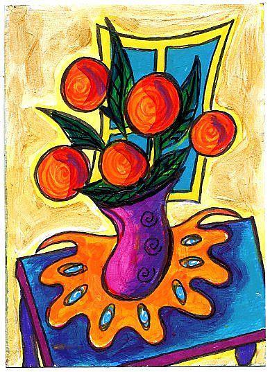 Art: Happy Still (Life) ~ 1 by Artist Christine Wasankari