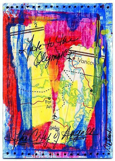Art: Ticket to Port Angeles by Artist Christine Wasankari