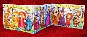 Detail Image for art Little Red Riding Hood And The Monsters: Accordian Style Art Book