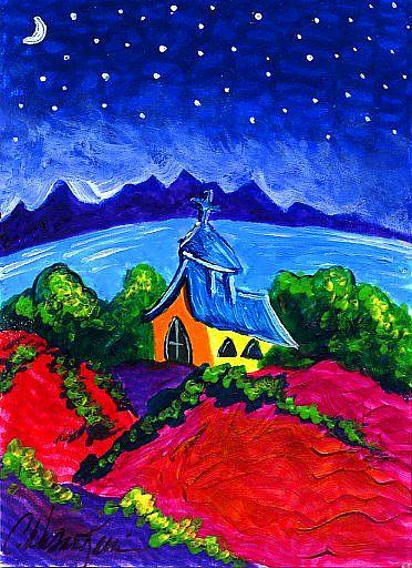 Art: Evening of Enchantment 10 by Artist Christine Wasankari