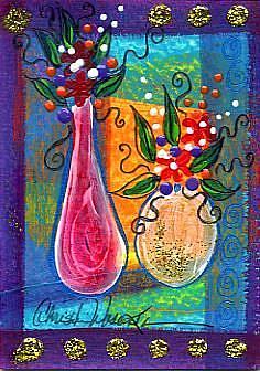 Art: Florals Divine #2 by Artist Christine Wasankari