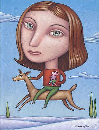 Art: Christmas 2006 by Artist Valerie Jeanne