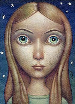 Art: Nocturne by Artist Valerie Jeanne