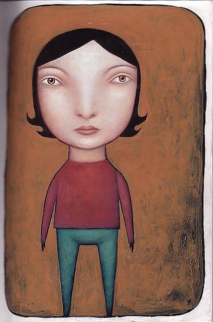 Art: Amber by Artist Valerie Jeanne