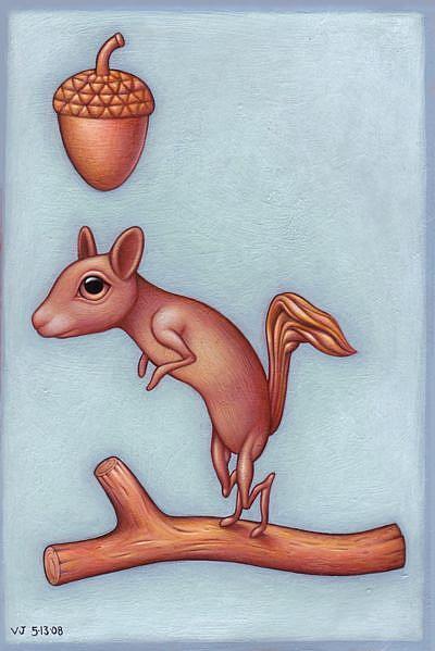 Art: Skwerl by Artist Valerie Jeanne