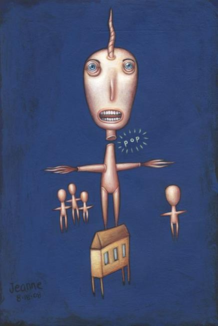 Art: Detach by Artist Valerie Jeanne