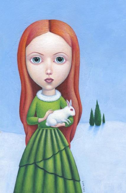Art: Christmas 2012 by Artist Valerie Jeanne