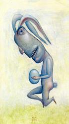 Art: Egg by Artist Valerie Jeanne