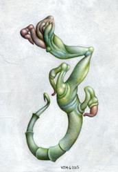 Art: Hybrid by Artist Valerie Jeanne