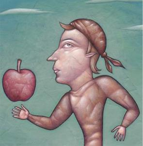 Detail Image for art Johnny Appleseed