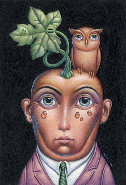 Art: Gourdy by Artist Valerie Jeanne