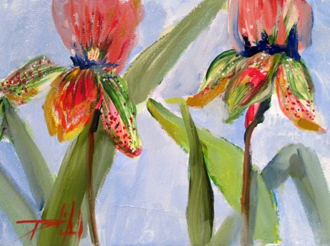 Art: Flowers by Artist Delilah Smith