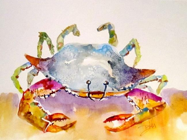Art: Crusty Crab by Artist Delilah Smith