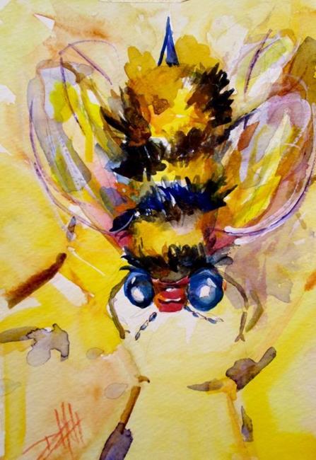 Art: Honey Bee by Artist Delilah Smith