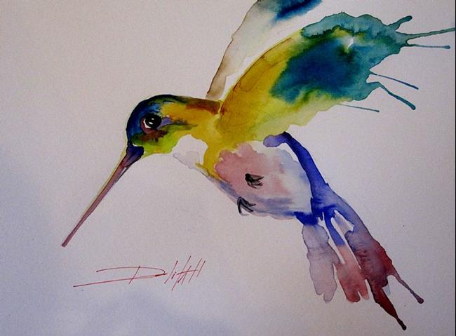 Art: A Splash of Color by Artist Delilah Smith