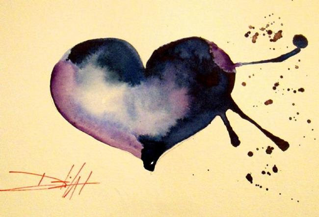 Art: My Blue Heart by Artist Delilah Smith