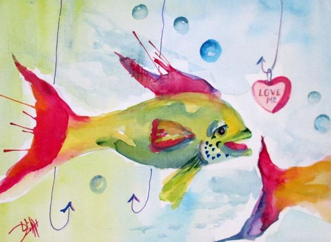 Art: Hook Me by Artist Delilah Smith