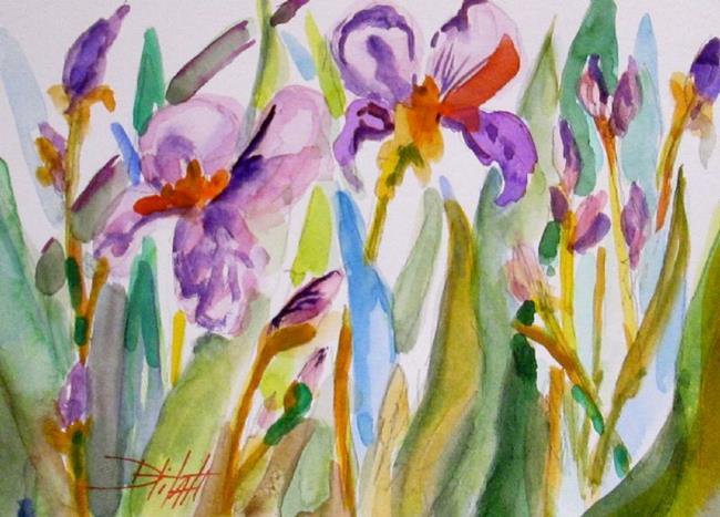 Art: Iris by Artist Delilah Smith