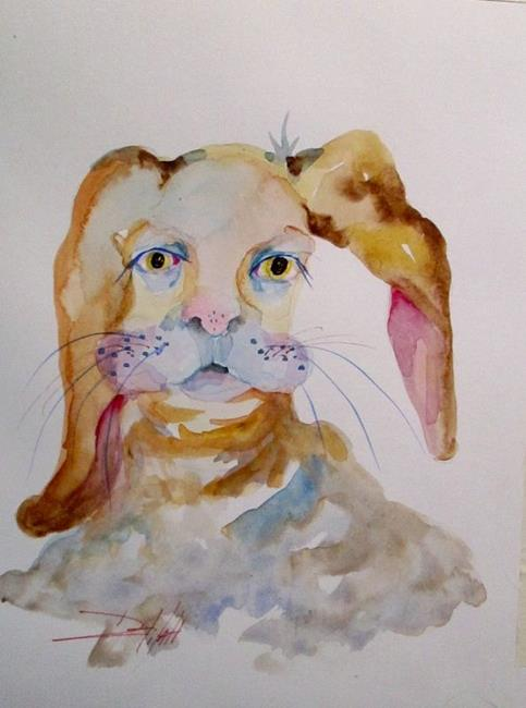 Art: Easter Rabbit by Artist Delilah Smith