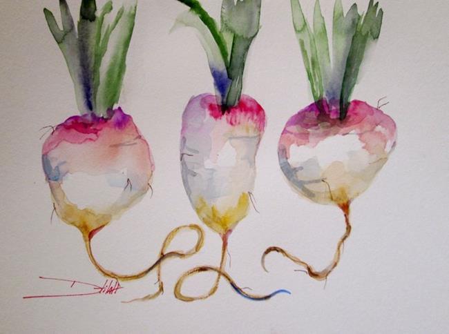 Art: Turnip by Artist Delilah Smith