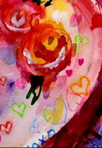 Detail Image for art Graffiti Heart
