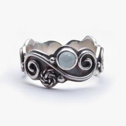 Art: Filigree Ring by Artist Andree Chenier