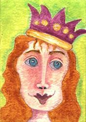 Art: Queen Isabella by Artist Dianne McGhee