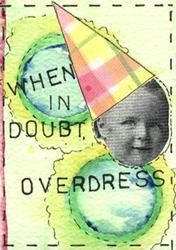 Art: Overdress by Artist Dianne McGhee