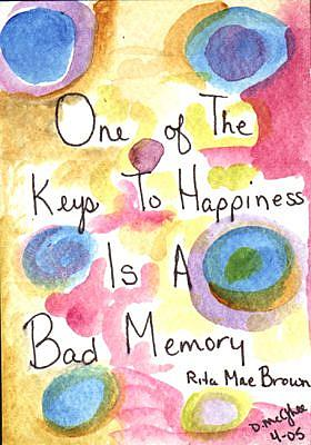 Art: Key to Happiness by Artist Dianne McGhee