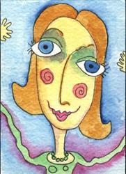 Art: Tootie Fruitie Tart by Artist Dianne McGhee
