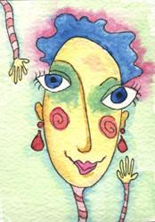 Art: Ruby Tart by Artist Dianne McGhee