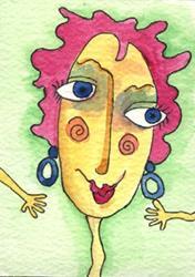Art: Darling Tart by Artist Dianne McGhee