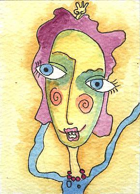 Art: Purple Tart by Artist Dianne McGhee
