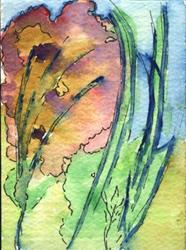 Art: After the Rain in Central Park by Artist Dianne McGhee