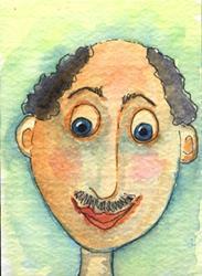 Art: Mr. Haberdash by Artist Dianne McGhee