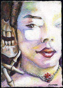 Art: The Whisper by Artist Madeline  Carol Matz
