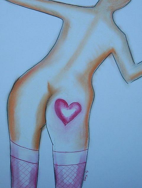 Art: Happy V-Day by Artist Sherry Key