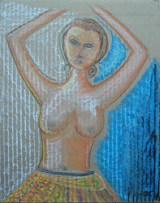 Art: Naked Tutu by Artist Sherry Key