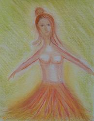 Art: Another Naked Tutu by Artist Sherry Key