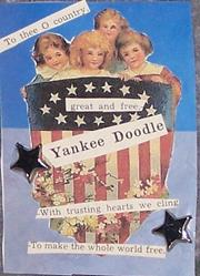 Art: Yankee Doodle original mixed media ACEO by Artist Nancy Denommee