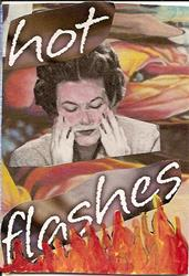 Art: Hot Flashes original ACEO by Artist Nancy Denommee