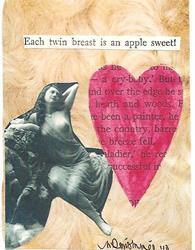 Art: Each Twin Breast An Apple Sweet by Artist Nancy Denommee