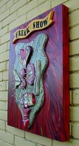 Detail Image for art FREAK SHOW SELF