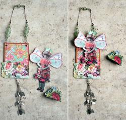 Art: SOLD - I Believe in Fairies #2 OOAK PAPER DOLL by Artist Shawn Marie Hardy